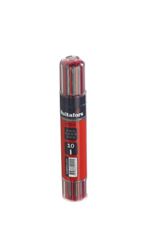 Hultafors Pack of 10 REFILL Grey Only Lead Pencil